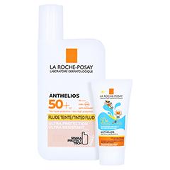 La Roche-Posay Anthelios Invisible Fluid LSF 50+ getönt + gratis La Roche Posay Anth. W Gel Kids 15ml 50 Milliliter