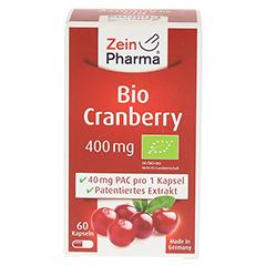 BIO CRANBERRY Vegi Kapseln 400 mg 60 Stück - Vorderseite
