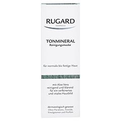 RUGARD Tonmineral Reinig.Maske f.norm.-fet.Haut 100 Milliliter - Vorderseite