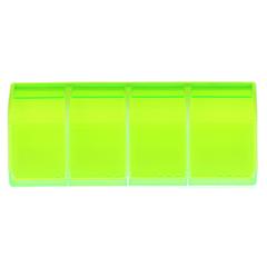MEDI 7 quattro Medikamentendosierer 4-Fächer grün 1 Stück - Vorderseite