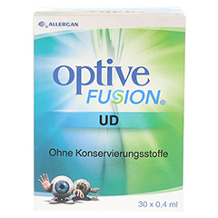 OPTIVE Fusion UD Augentropfen 30x0.4 Milliliter - Vorderseite