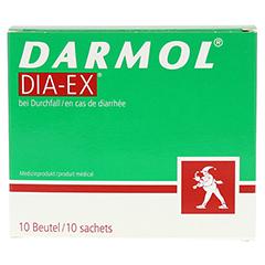 DARMOL DIA-EX Pulver z.Herstell.e.Susp.z.Einn. 10 Stück - Vorderseite