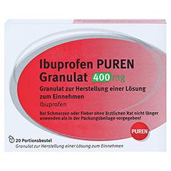 Ibuprofen PUREN 400mg 20 Stück - Vorderseite
