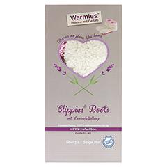 WARMIES Slippies Boots Sherpa Gr.37-42 b/r 1 Stück - Vorderseite