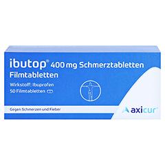 Ibutop 400mg Schmerztabletten 50 Stück - Vorderseite