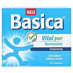 BASICA Vital pur Basenpulver 50 Stück - Vorderseite