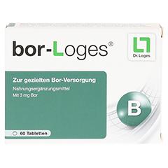 BOR-LOGES Tabletten 60 Stück - Vorderseite