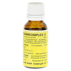 MERIDIANKOMPLEX 9 Tropfen zum Einnehmen 20 Milliliter N1 - Vorderseite