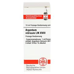 LM ARGENTUM nitricum XVIII Dilution 10 Milliliter N1 - Vorderseite