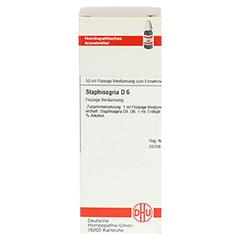 STAPHISAGRIA D 6 Dilution 50 Milliliter N1 - Vorderseite