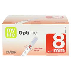 OPTIFINE 8 Pen-Nadeln 0,25x8 mm 100 Stück - Vorderseite