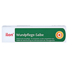 ILON Wundpflege-Salbe 50 Milliliter - Vorderseite