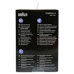 BRAUN BLUTDRUCKMESSGERÄT VitalScan3 Handg.BBP2200 1 Stück - Linke Seite