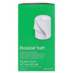 ROSIDAL haft Kompressionsbinde 12 cmx5 m 1 Stück - Linke Seite