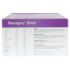 RENAPRO Shot flüssig 30x60 Milliliter - Linke Seite