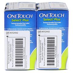 ONETOUCH SelectPlus Blutzucker Teststreifen 100 Stück - Linke Seite