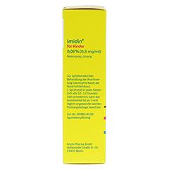 IMIDIN für Kinder 0,05% 0,5 mg/ml Nasenspray 10 Milliliter N1 - Linke Seite