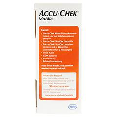 ACCU-CHEK Mobile Set mmol/l III 1 Stück - Linke Seite