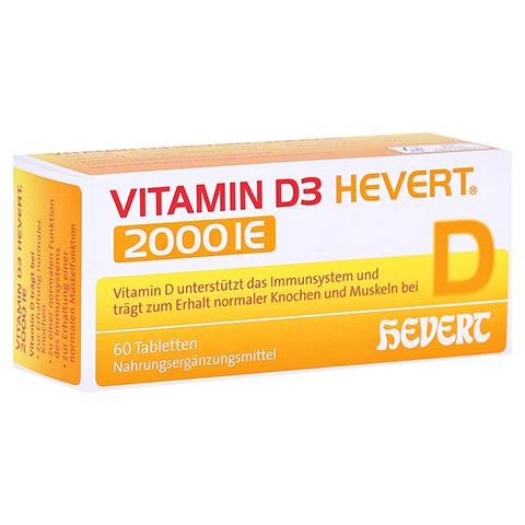 VITAMIN D3 Hevert 2.000 I.E. Tabletten 60 Stück