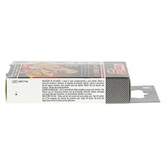BLUTSTILLENDES Pflaster 2x7 cm SHOCKSTOP 15 Stück - Rechte Seite