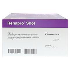 RENAPRO Shot flüssig 30x60 Milliliter - Rechte Seite