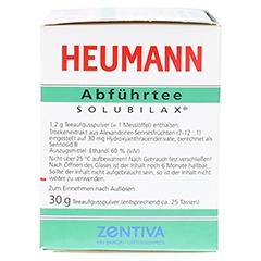HEUMANN Abführtee Solubilax 30 Gramm - Rechte Seite
