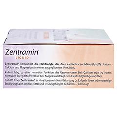 ZENTRAMIN liquid Trinkfläschchen 14x25 Milliliter - Rechte Seite