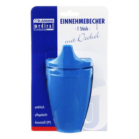 EINNEHMEBECHER m.2 Grif.+2 Deck.4+12mm blau 1 Stück