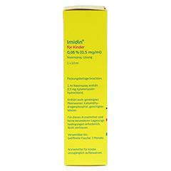 IMIDIN für Kinder 0,05% 0,5 mg/ml Nasenspray 10 Milliliter N1 - Rechte Seite