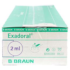 EXADORAL B.Braun orale Spritze 2 ml 100 Stück - Rechte Seite