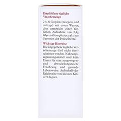 GEMMOEXTRAKT Preiselbeere Tropfen 50 Milliliter - Rechte Seite