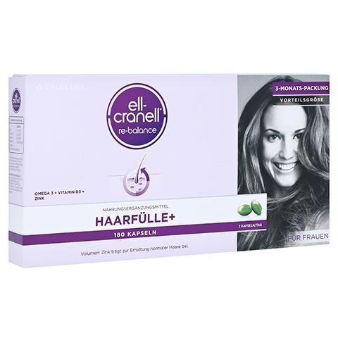 ELL-CRANELL Haarfülle+ für Frauen Kapseln 180 Stück