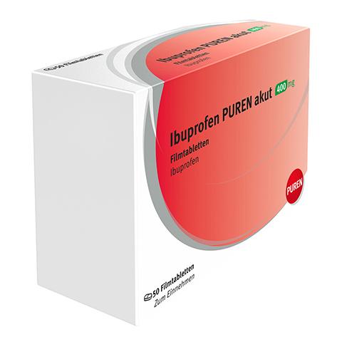 IBUPROFEN Actavis 400 mg Filmtabletten 50 Stück N3