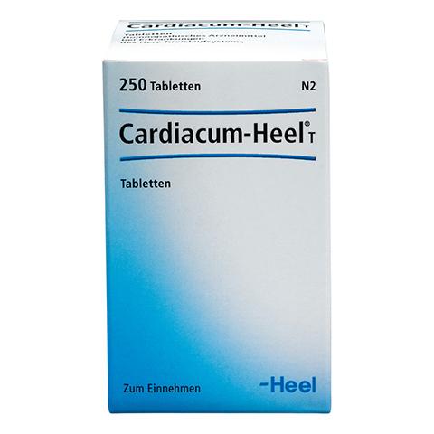 CARDIACUM Heel T Tabletten 250 Stück N2