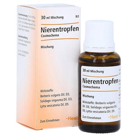 NIERENTROPFEN Cosmochema 30 Milliliter N1