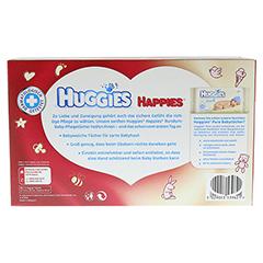 HUGGIES Happies Baby-Pflegetücher 80 Stück - Rückseite