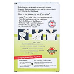 LAXELLE Achselpads mit Aloe Vera Gr.L 30 Stück - Rückseite