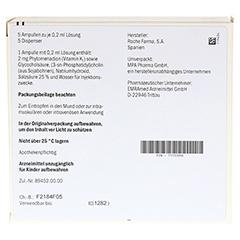 KONAKION MM 2 mg Lösung 5 Stück N1 - Rückseite