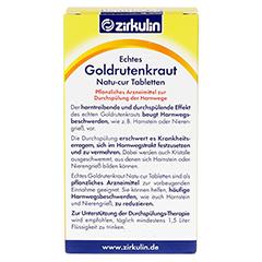 ECHTES GOLDRUTENKRAUT Natu-cur 600 mg Filmtabl. 30 Stück - Rückseite
