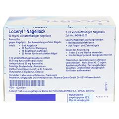 Loceryl gegen Nagelpilz 5 Milliliter N2 - Rückseite