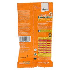 EM EUKAL Kinder Gummidrops Orange zuckerhaltig 75 Gramm - Rückseite