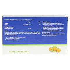 ORTHOMOL Vitamin D3 Plus Kapseln + gratis Kochbuch Vegan BBQ Orthomol 60 Stück - Rückseite