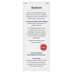 HYALURON Lippen-Volumenpflege Balsam marsala 7 Milliliter - Rückseite