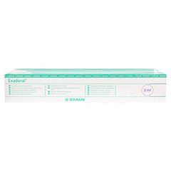 EXADORAL B.Braun orale Spritze 2 ml 100 Stück - Rückseite