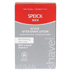 SPEICK Men Active After Shave Lotion 100 Milliliter - Rückseite