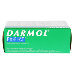 DARMOL EX-FLAT magensaftresistente Tabletten 40 Stück - Oberseite