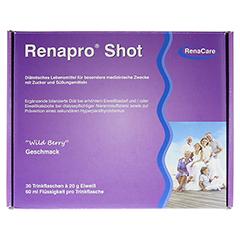 RENAPRO Shot flüssig 30x60 Milliliter - Oberseite