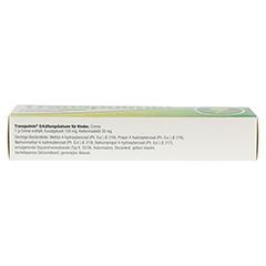 Transpulmin Erkältungsbalsam für Kinder 100 Gramm - Oberseite