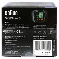 BRAUN BLUTDRUCKMESSGERÄT VitalScan3 Handg.BBP2200 1 Stück - Unterseite