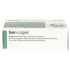 BOR-LOGES Tabletten 120 Stück - Unterseite